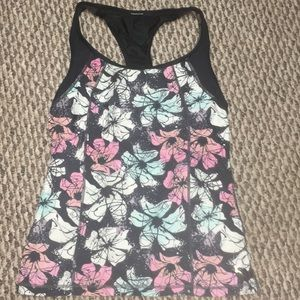 Athletic floral Tank Top